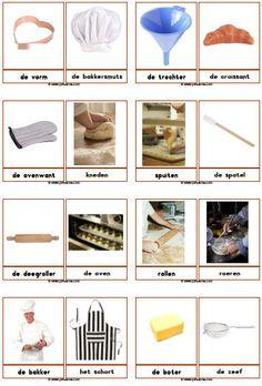 Bakker downloads - Juf Sanne Creative Curriculum, Creative Teaching, Teaching Kids, Kids Learning, Dutch Language, Second Language, Learn Dutch, Community Helpers, Montessori Materials