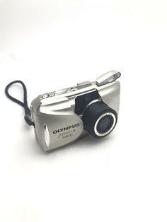 OLYMPUS µmju:-II MJU 2 ZOOM 80 35MM FILM CAMERA ALL WEATHER 38-80MM LENS Silver #Olympus 35mm Film, Film Camera, Camera Photography, Olympus, Lens, Weather, Shop, Silver, Ebay