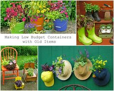 Making Low Budget Containers with Old Items