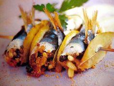 Sarde a  Beccafico - Sicilian Food
