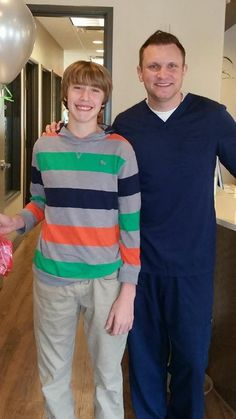 Congratulations Nicholas! Your new smile looks good on you!