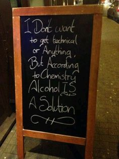 Alcoholic beverages are solutions. Pure alcohol is a solvent