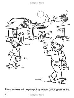 coloring pages sites | Workplace Safety Colouring-In | Safe Work Month Australia ...