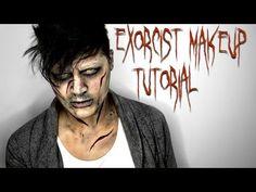 Exorcist Makeup Tutorial | NYX Face Awards | Alex Faction - YouTube