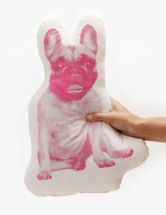 Areaware French Bulldog Mini Cushion - 2Modern
