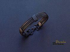 Hommes de cuivre bracelet en cuivre homme Bracelete un cadeau