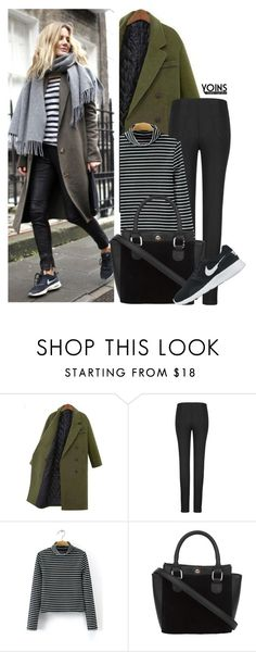 """""""Yoins 15"""" by deeyanago ❤ liked on Polyvore featuring NIKE, women's clothing, women, female, woman, misses, juniors, outfit, chic and fab"""