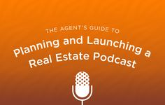 Use this podcast how to guide to plan and launch your own real estate podcast to generate leads! http://plcstr.com/1wQFE8X #realestate #marketing