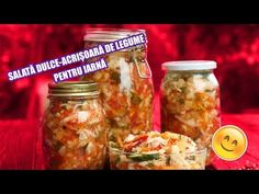 site cu retete culinare Romanian Food, Preserves, Pickles, Biscuits, Mason Jars, Healthy Recipes, Canning, Youtube, Sweets