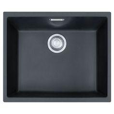 Franke Tectonite Kitchen Sink SID110-50 Carbon Black
