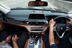 BMW 740 LI Interior