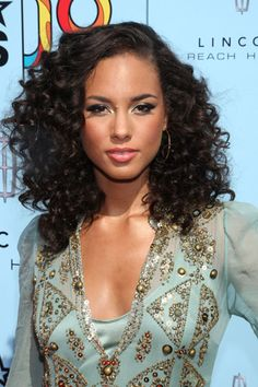 """Alicia Keys hair"""