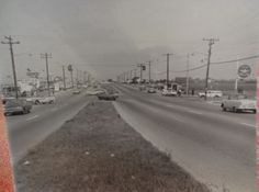The corner of Hempstead Turnpike & Wantagh Avenue, Circa 1964 - Levittown, NY.