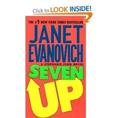 READING MARATHON - Finishing up Janet Evanovich's - Seven Up - next up #8 in the series!