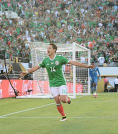 """Javier """"Chicharito"""" Hernández is the second highest goalscorer of alltime for the Mexican National team. He plays for Bayer Leverkusen in the Bundesliga. Mexico National Team, Soccer Players, Idol, Profile, Football, La Galaxy, Football Players, User Profile, Soccer"""