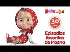 Masha y el Oso - Una Navidad en Paz (Capítulo 21) Dibujos Animados en español! - YouTube