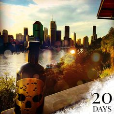 👻🍸☃🇦🇺 #GhostVodka #adventcalendar #xmas #countdown #day5 #memories #2016 #Brisbane #Australia #kangaroopoint #scenery #sunset #brisbanelife #brisbanestyle #brisbaneriver #brisbaneanyday #travel #explore #downunder #ghost #vodka #skull #bottle #drinks #drinkstagram #cocktails #martini #mixology #bottleservice #bottlesondeck