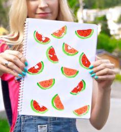 Sarabeautycorner watermelon notebook