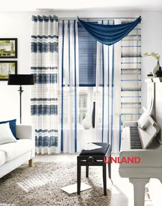 Unland Andro, Fensterideen, Vorhang, Gardinen und Sonnenschutz - curtains, contract fabrics, pleated blinds, roller blinds and more. Made in Germany