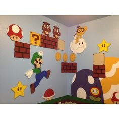 Mario Brothers playroom