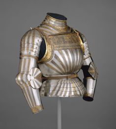 Elements of a Light-Cavalry Armor. Milan, Italy ca.1510. Fashion in European Armor. The Met's Heilbrunn Timeline of Art History