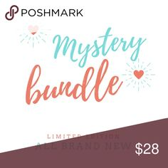 ** MYSTERY BUNDLE ** All items in closet are fair game.  You will get 3 PIECES from either category:  tops dresses sweaters accessories kimonos ponchos jewelry pants leggings shorts skirts  Choose your size when you click on the buy now button! Tops