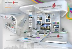 MEDIUM BOOTH by AMORNWAT OSODPRASIT, via Behance