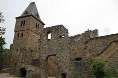 Frankenstein Castle in Darmstadt, Germany.  Inspiration for Mary Shelly's novel Frankenstein.