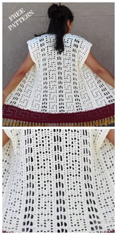 Crochet Summer Shrug Free Crochet Pattern-Video Included Crochet The Augustus Summer Shrug Cardigan Kimono Pattern Free, Crochet Shrug Pattern Free, Hand Crochet, Free Crochet, Crochet Top, Crochet Patterns, Crochet Baby, Crochet Summer, Crochet Shrugs