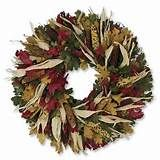 indian corn harvest wreath indian corn and fall leaves make this ...