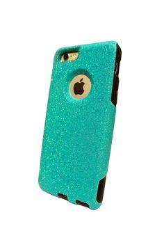 Custom iPhone 6 4.7 inch Glitter Otterbox Commuter от NaughtyWoman