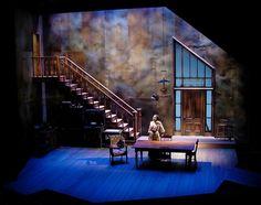 GEM OF THE OCEAN. Milwaukee Repertory Theatre. Scenic Design by Tony Cisek. 2006