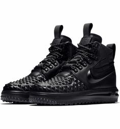 best service 4d713 f305f Main Image - Nike Lunar Force 1 Waterproof Duckboot (Women) All Black  Sneakers,