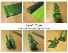creative polymer leaf