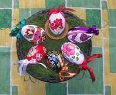 Hungarian hand-painted eggs