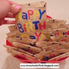 Looking for a simple summer project to help make your year go smoother? Prepping birthday bags is a quick project that you can do right… Classroom Procedures, Classroom Jobs, Classroom Setup, Preschool Classroom, Kindergarten Activities, 1st Day Of School, Beginning Of The School Year, School Fun, Classroom Birthday
