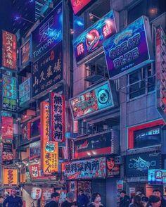 Click the link below for Tech News and Gadget Updates. Arte Cyberpunk, Cyberpunk Aesthetic, Cyberpunk City, Futuristic City, Aesthetic Japan, Neon Aesthetic, Japanese Aesthetic, Tokyo Tumblr, Landscape Arquitecture