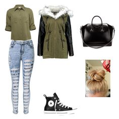 """""""Untitled #108"""" by timcaaa on Polyvore featuring Converse and Givenchy"""