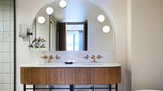 Interior Architecture, Interior Design, Bathroom Lighting, Mirror, Furniture, Home Decor, Architecture Interior Design, Nest Design, Bathroom Light Fittings