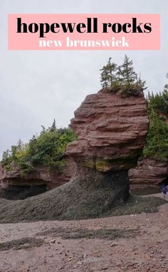 We spent a day exploring the ocean floor and cool rock structures at Hopewell Rocks on the Bay of Fundy in New Brunswick Canada. Experience the largest tidal extremes in the world! Travel Tips Tips Travel Guide Hacks packing tour Europe Destinations, Amazing Destinations, Travel Usa, Travel Tips, Travel Ideas, Travel Packing, Solo Travel, Budget Travel, Hopewell Rocks