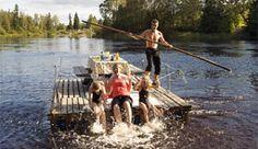 Flåterafting på Trysilelva - Foto: Johan Wildhagen/Palookaville
