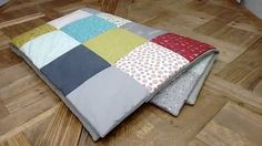 Tutoriales patchwork: Como terminar una colcha sin bies muy rápido as you finish a quilt without bias quickly