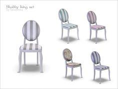 Severinka_'s Shabby dining chair
