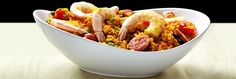 Spanish Paella http://www.joybauer.com/healthy-recipes/simple-paella-with-cauliflower-rice/?utm_source=Joy%27s+Healthy+Bite&utm_campaign=95958a29bd-Cold_Fighting_Bites2_26_2016&utm_medium=email&utm_term=0_c14ec072cd-95958a29bd-141853553