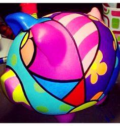 Artesanies | Chanchitos Decorados | Pinterest | Php