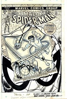 The Many Faces of SPIDER-MAN #113! John Romita Sr.! Marvel Comics!