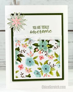 Grateful Bunch Card with Stampin' Up! Demonstrator Angie Juda