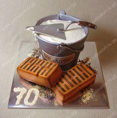 Unique Cakes, Creative Cakes, Fondant Cakes, Cupcake Cakes, Architecture Cake, Realistic Cakes, Dad Cake, Tool Cake, Sculpted Cakes