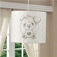 Funna Baby Lovely Bear Tavan Lambası 4226 Şık Tasarım Bebek Odası Tavan Lambası