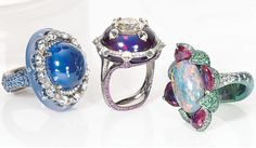 Wallace Chan rings | More jewellery am obsessed | Pinterest